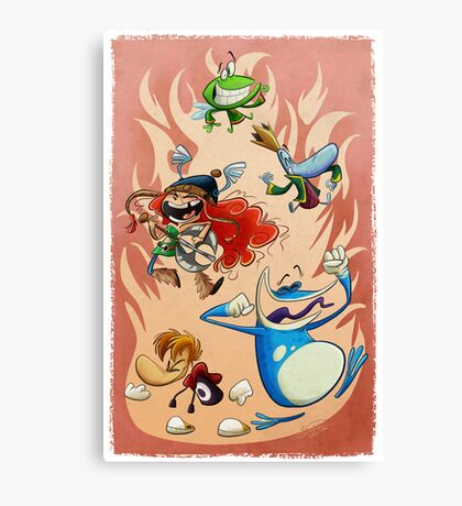 Rayman Legends Canvas Print