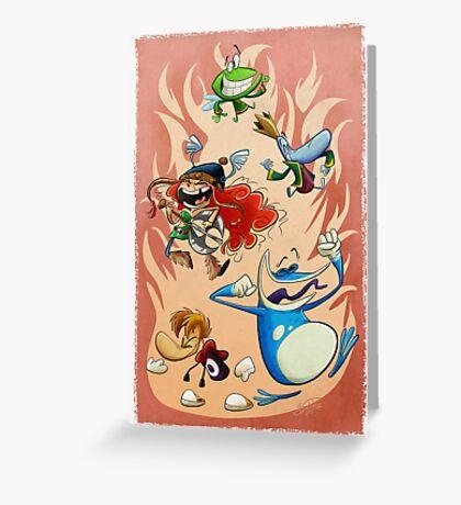 Rayman Legends Greeting Card