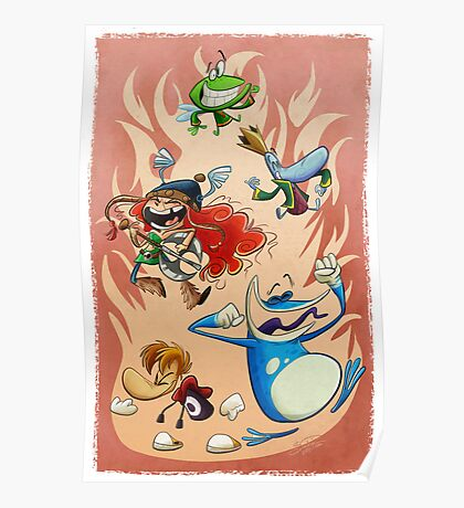Rayman Legends Poster