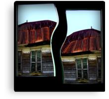 A House Divided Canvas Print