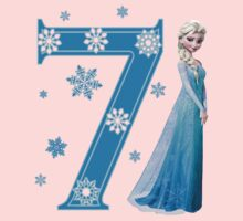 Disney Frozen Elsa 7th Birthday by sweetsisters
