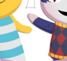 Animal Crossing Cats Against Cat Calls Sticker