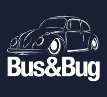 VW Beetle Bus & Bug One Piece - Short Sleeve