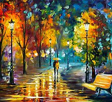 SOUL OF THE RAIN by Leonid  Afremov