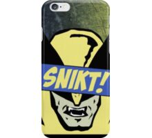 Wolverine Snikt! iPhone Case/Skin