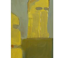 yellow tower 3  by H J Field