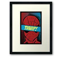 Spidey Thwip! Framed Print