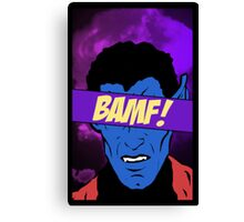 Nightcrawler Bamf! Canvas Print
