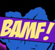 Nightcrawler Bamf! Sticker