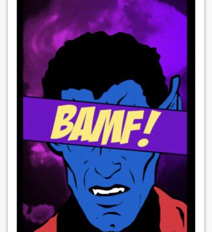 Nightcrawler Bamf! Sticker