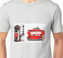 Merry Christmas from London  Unisex T-Shirt