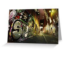 "Melbourne Graff ""SPECKO"" Greeting Card"