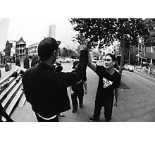 High Fives Photographic Print