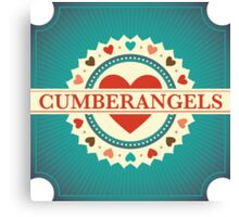 Cumberangels logo Canvas Print