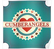 Cumberangels logo Poster