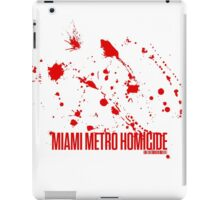 Miami Metro Homicide iPad Case/Skin