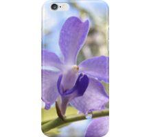 Purple Drip Orchid iPhone Case/Skin