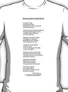 Awakening Divine Self Worth poem T-Shirt