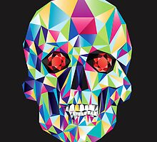 Geometric Skull Candy by DaviesBabies