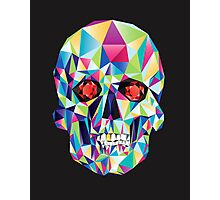 Geometric Skull Candy Photographic Print