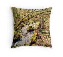 By the stream... Throw Pillow