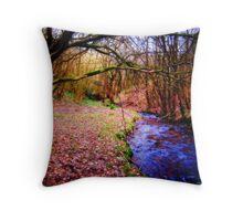 Autumn colours... Throw Pillow