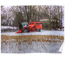 Farm Vehicle At Rest Poster