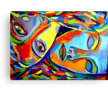 """Two Energies"" Canvas Print"