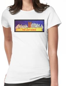 The Last Kabsa  Womens Fitted T-Shirt