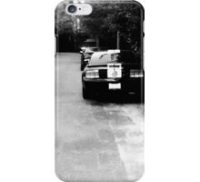 Cars on the Street iPhone Case/Skin