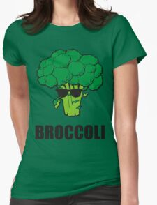 Cool Broccoli Womens Fitted T-Shirt