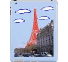 Eiffel Tower - Real to Imaginary iPad Case/Skin