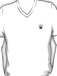 black rolex logo T-Shirt