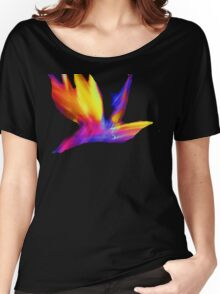 Abstract Wings Of Color Women's Relaxed Fit T-Shirt