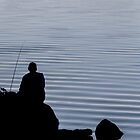 Fisherman / Pêcheur patient by maophoto
