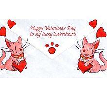 Lucky Valentine Photographic Print