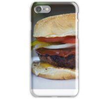 mmm burger iPhone Case/Skin