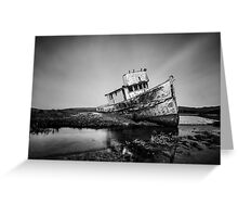 Shipwreck in Point reyes Greeting Card