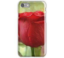 La Couleur de l'Amour est Rouge iPhone Case/Skin