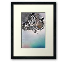 Space Ex Framed Print
