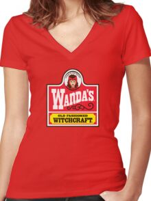 Wanda's Women's Fitted V-Neck T-Shirt
