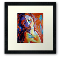 """Concealed sorrows"" Framed Print"