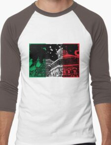 Florence Cathedral (Il Duomo) Flag Men's Baseball ¾ T-Shirt