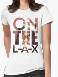 Biggie on the LAX Womens Fitted T-Shirt