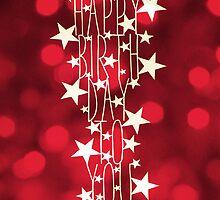Happy Birthday To You - red sparkles by MrsTreefrog