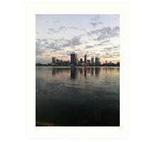 Perth Sunrise Art Print