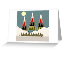 Evening Ride Greeting Card