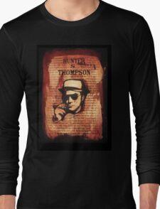 Hunter.S.Thompson. Long Sleeve T-Shirt