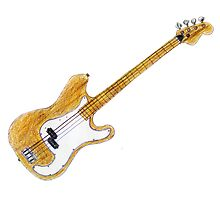Kay Vintage Electric Bass Guitar  by Framerkat