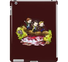 Team Free Will Goes Exploring iPad Case/Skin